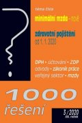 neuveden: 1000 řešení 3/2020 Minimální mzda - Zdravotní pojištění od 1. 1. 2020, Daně
