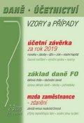 neuveden: DÚVaP 2-3/2020 Účetní závěrka - Daň z příjmů FO, Základ daně, Mzda, Odpis p