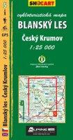 neuveden: Blanský les - cykloturistická mapa č. 5 /1:25 000
