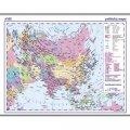 neuveden: Asie - příruční politická mapa A3/1: 35 mil.