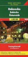neuveden: Rakousko 1:300 000 (automapa)