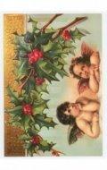 Trnka Jiří: Pohled Vánoce, Dva Andělé, cesmína