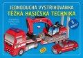 neuveden: Těžká hasičská technika - Jednoduchá vystřihovánka