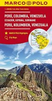 neuveden: Peru, Kolumbie, Venezuela, Ecuador  1:4M