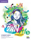 Lewis Samantha, Vincent Daniel: Own it! 3 Student´s Book with Practice Extra
