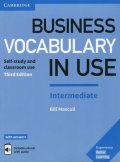 Mascull Bill: Business Vocabulary in Use: Intermediate Book with Answers and Enhanced ebo