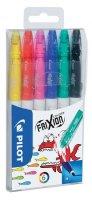 neuveden: PILOT FriXion Colors, fix, sada 6 barev