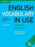McCarthy Michael, O'Dell Felicity,: English Vocabulary in Use: Advanced Book with Answers