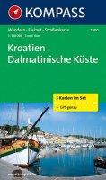 neuveden: Kroatien Dalmatinische Küste 2900 ,3 mapy / 1:100T