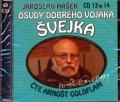 Hašek Jaroslav: Osudy dobrého vojáka Švejka 13-14 - 2CD