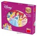 Disney Walt: Princezny - Dřevěné kostky 12 ks