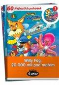 Verne Jules: Willy Fog: 20.000 mil pod mořem - kolekce 4 DVD