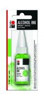 neuveden: Marabu Alkoholový inkoust/světle zelený 20 ml
