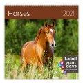 neuveden: Kalendář 2021 nástěnný: Horses, 300x300