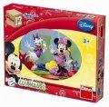 Disney Walt: Mickeyho klubík - Dřevěné kostky 12 ks