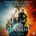 Pratchett Terry: Dobrá znamení - 2 CDmp3 (Čte Jan Zadražil)