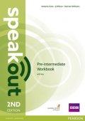 Williams Damian: Speakout 2nd Edition Pre-Intermediate Workbook w/ key