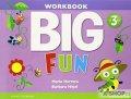 Herrera Mario, Hojel Barbara: Big Fun 3 Workbook with AudioCD