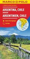 neuveden: Argentina, Chile, Uruqay  1:4M