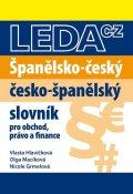 neuveden: Španělsko-český, česko-španělský slovník pro obchod, právo a finance