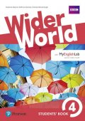 Barraclough Carolyn: Wider World 4 Students´ Book w/ MyEnglishLab Pack