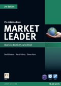 Cotton David: Market Leader 3rd Edition Pre-Intermediate Coursebook w/ DVD-Rom Pack