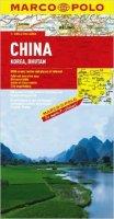 neuveden: Čína,Korea,Bhutan/mapa1:4M MD