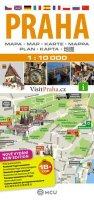 neuveden: Praha - plán města  1:10 000