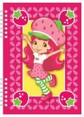neuveden: Strawberry - školní zápisník A5