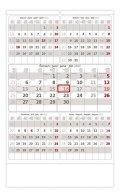 neuveden: Kalendář nástěnný 2022 - Pětiměsíční šedý