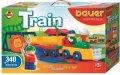 neuveden: Stavebnice BAUER: Train Vláčky 340 dílů