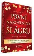 neuveden: 1. narozeniny Šlágr TV - 5 DVD