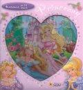 neuveden: Princezny - skládačková knížka srdce
