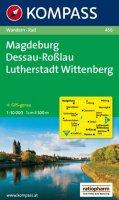 neuveden: Magdeburg,Dessau,Lutherstadt 456 / 1:50T NKOM