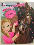 neuveden: Horses Passion 2 - Milujeme koníky - Omalovánky a samolepky