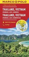 neuveden: Thajsko,Vietnam,Laos,Kambodža/mapa 1:2M MD(ZoomSystem)