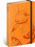 neuveden: Notes - Star Wars – BB-8, linkovaný, 10,5 x 15,8 cm
