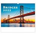 neuveden: Kalendář nástěnný 2022 - Bridges