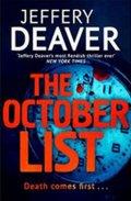 Deaver Jeffery: The October List