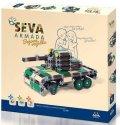 neuveden: Stavebnice SEVA - Armáda Bojová vozidla 436 dílků