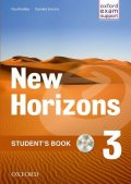 Radley Paul: New Horizons 3 Student´s Book with CD-ROM Pack