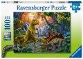 neuveden: Puzzle V říši dinosaurů/100 dílků