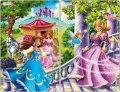 neuveden: Puzzle MIDI - Princezny/11 dílků (2 druhy)