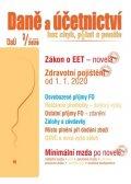 neuveden: DaÚ 3/2020 EET novela - Zdravotní pojištění:  změny, Místo plnění při dodán