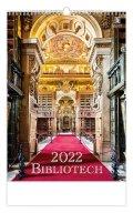 neuveden: Kalendář nástěnný 2022 - Bibliotech