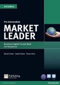 Cotton David: Market Leader 3rd Edition Pre-Intermediate Coursebook w/ DVD-ROM/ MyEnglish