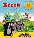 neuveden: Krtek - Super třpytivé samolepky