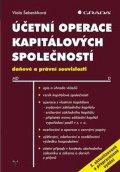 Šebestíková Viola: Účetní operace kapitálových společností