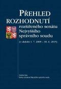 kolektiv autorů: Přehled rozhodnutí rozšířeného senátu Nejvyššího správního soudu (v období