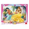 neuveden: Princezny & mazlíčci - puzzle 12 dílků